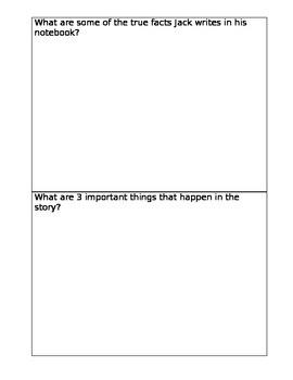 Magic Tree House Book Report