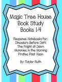 Magic Tree House Book Study!! Books 1-4 Bundle