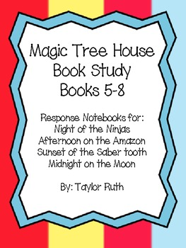 Magic Tree House Book Study!! Books 5-8 Bundle