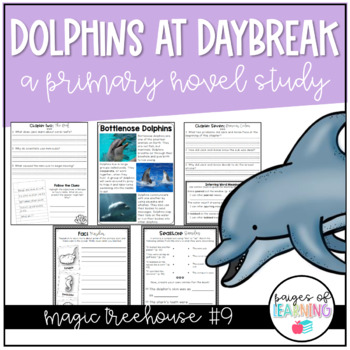 Magic Tree House Book Study: Dolphins at Daybreak