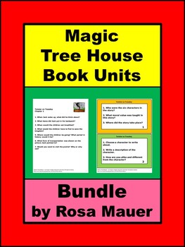 Magic Tree House Book Unit Bundle