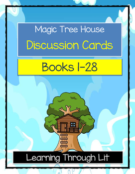MAGIC TREE HOUSE Discussion Cards Bundle - Books 1-28