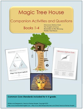 Magic Tree House: Books #1-4-Companion Activities and Questions