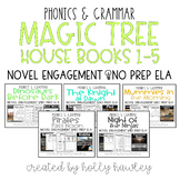 Magic Tree House Books 1-5 BUNDLE NO PREP (ELA)