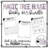 Magic Tree House Books #1-5 Bundle (Book Study Companions