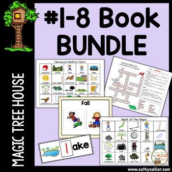 Magic Tree House - Books #1 - #8 BIG BUNDLE