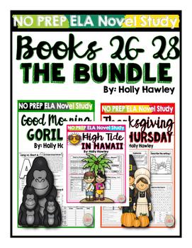 Magic Tree House Books 26-28 Bundle NO PREP (ELA)