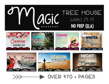 Magic Tree House Books 29-35 Merlin Missions Bundle NO PREP (ELA)
