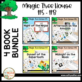 Magic Tree House - Books #5 - #8 BUNDLE