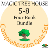Magic Tree House - Books 5-8 Comprehension Quiz Set