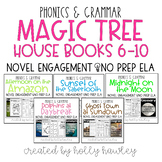 Magic Tree House Books 6-10 Bundle NO PREP (ELA)
