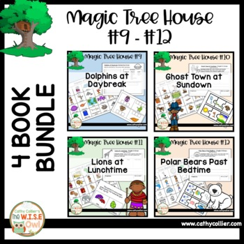 Magic Tree House - Books #9 - #12 BUNDLE