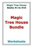 Magic Tree House Bundle: Books #1 to #10