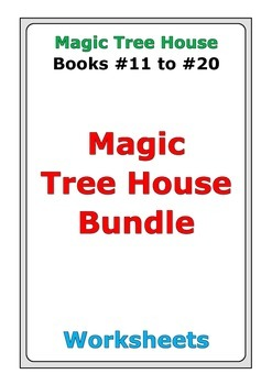 Magic Tree House Bundle: Books #11 to #20