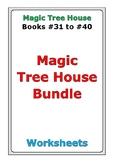 Magic Tree House Bundle: Books #31 to #40