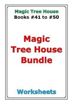 Magic Tree House Bundle: Books #41 to #50