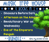 Magic Tree House Bundle: Dinosaurs, Penguins, Amazon, & Revolutionary War