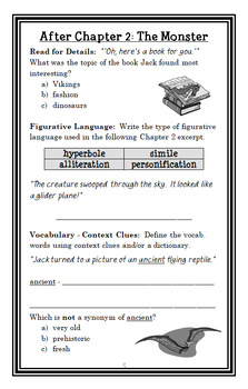Magic Tree House BUNDLE (Mary Pope Osborne) 8 Novel Studies: Books #1-8 (208 pg)