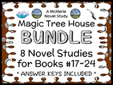 Magic Tree House Bundle (Mary Pope Osborne) 8 Novel Studies : Books 17 - 24