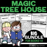 Magic Tree House Bundle for Books 1-8 Distance Learning