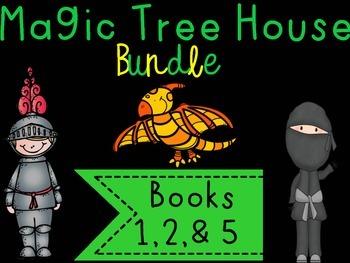 Magic Tree House Bundle {books 1,3,& 5}