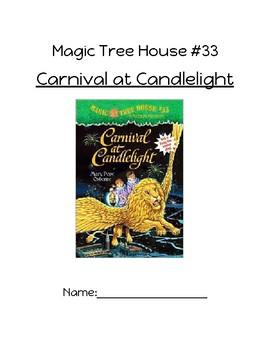 Magic Tree House Carnival at Candlelight Novel Study Packet
