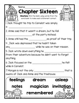 Magic Tree House: Christmas in Camelot A Guided Reading Activity