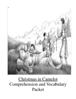 Magic Tree House Christmas in Camelot Comprehension and Vocabulary Packet
