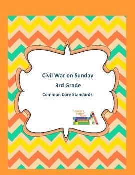 Magic Tree House Civil War on Sunday 3rd Grade Common Core