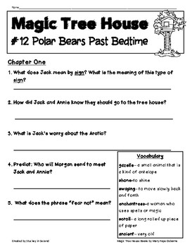 Magic Tree House Companion Pack {Polar Bears Past Bedtime #12}
