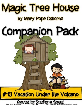 Magic Tree House Companion Pack {Vacation Under the Volcano #13}