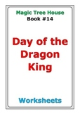 """Magic Tree House """"Day of the Dragon King"""" worksheets"""
