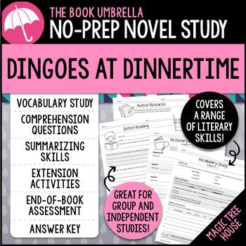 Dingoes at Dinnertime - Magic Tree House