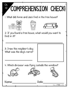 Magic Tree House Dinosaurs Before Dark {A Book Study Companion}