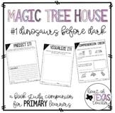 Magic Tree House #1 Dinosaurs Before Dark {A Book Study Companion for K/1/2}