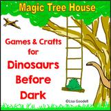 Magic Tree House Dinosaurs Before Dark Activities and Games