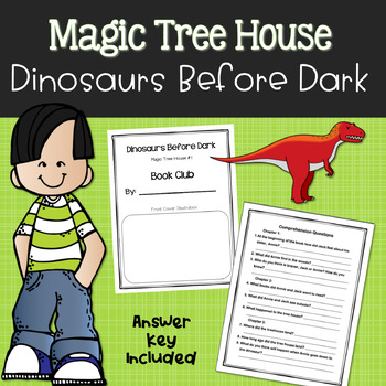 Magic Tree House Dinosaurs Before Dark Book Club