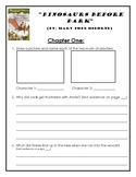 Magic Tree House: Dinosaurs Before Dark - Book Study Comprehension Questions