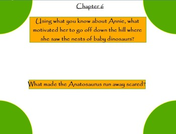 Magic Tree House Dinosaurs Before Dark Common Core Aligned Flipchart