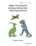 Magic Tree House - Dinosaurs Before Dark Comprehension Questions with Crossword
