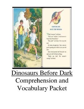 Magic Tree House Dinosaurs Before Dark Guided Reading Unit