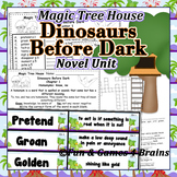 Magic Tree House - Dinosaurs Before Dark Novel Unit-Vocab,