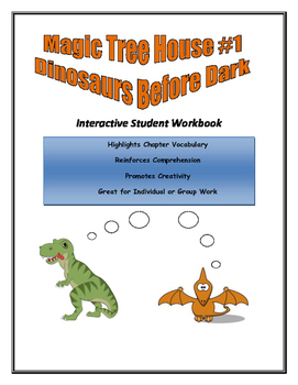 Magic Tree House - Dinosaurs Before Dark Student Response Booklet