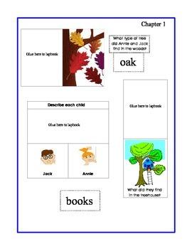 Magic Tree House - Dinosaurs before Dark Lapbook