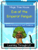 Magic Tree House EVE OF THE EMPEROR PENGUIN Comprehension & Citing Evidence