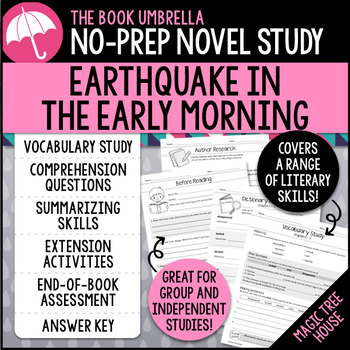 Earthquake in the Early Morning - Magic Tree House