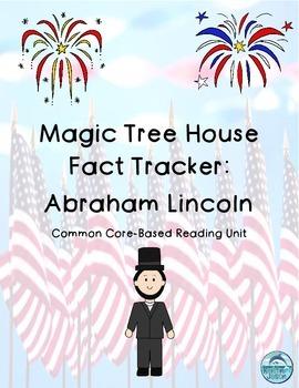 Magic Tree House Fact Tracker Abraham Lincoln Common Core