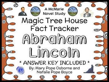 Magic Tree House Fact Tracker: Abraham Lincoln (Osborne) Book Study