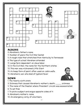 Magic Tree House Fact Tracker: Abraham Lincoln (Osborne) Book Study