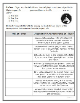 Magic Tree House Fact Tracker : Baseball (Osborne) Book Study / Comprehension